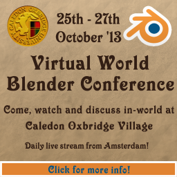 Virtual World Blender Conference