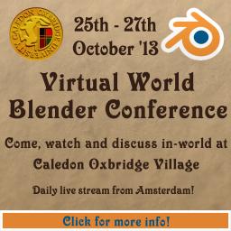 Virtual World Blender Conference